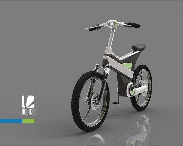 Thiết Kế kiểu dáng xe đạp điện